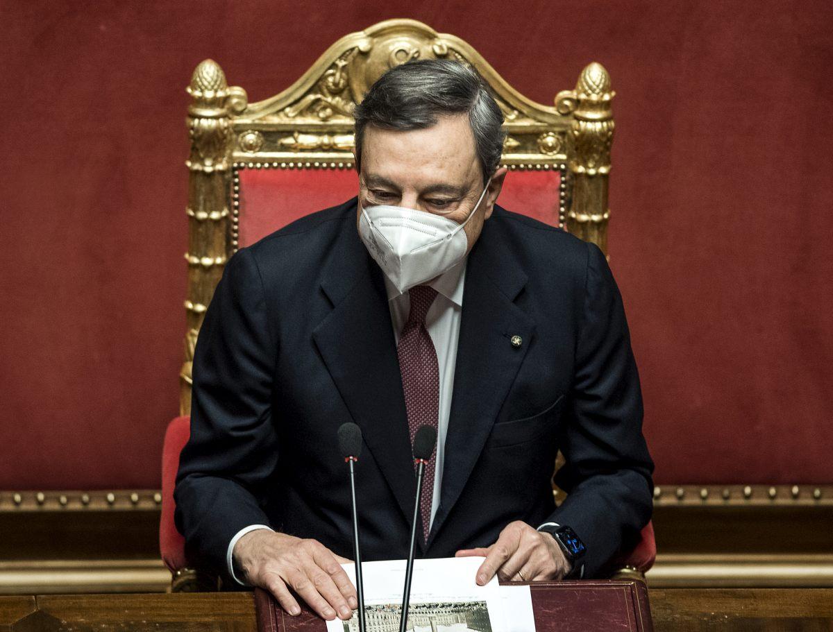 """Draghi """"Italia non è come dovrebbe essere, con Pnrr cambio di passo"""""""