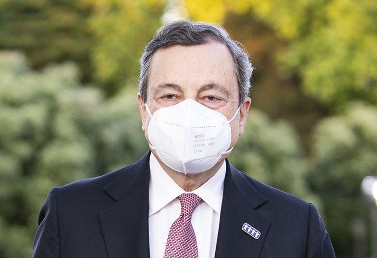 """Draghi""""Coordinamento Ue su diritti,accelerare su vaccini e green pass"""""""
