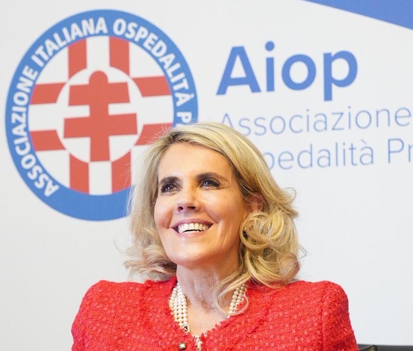 Sanità privata, Barbara Cittadini confermata presidente nazionale Aiop