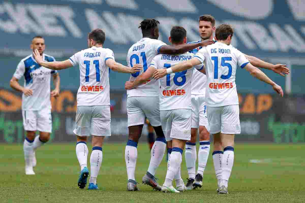 L'Atalanta batte il Genoa 4-3 e vola in Champions