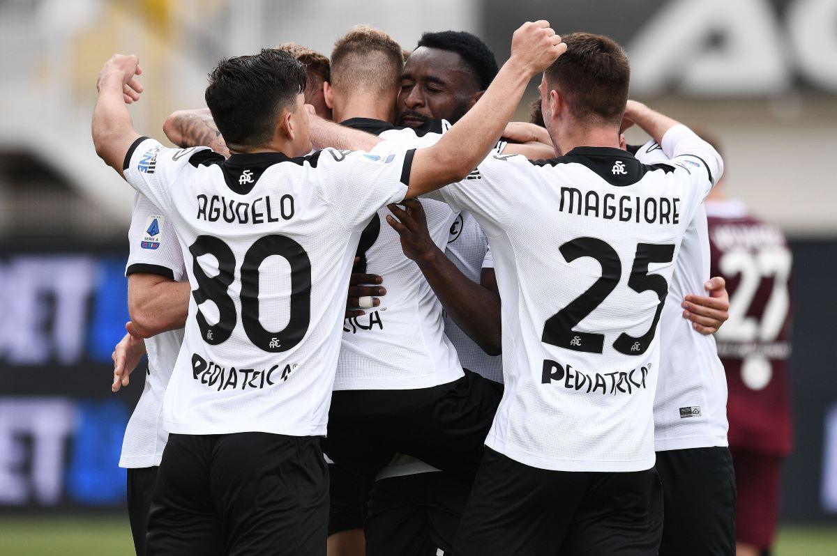 Spezia-Torino 4-1, liguri salvi e granata nei guai