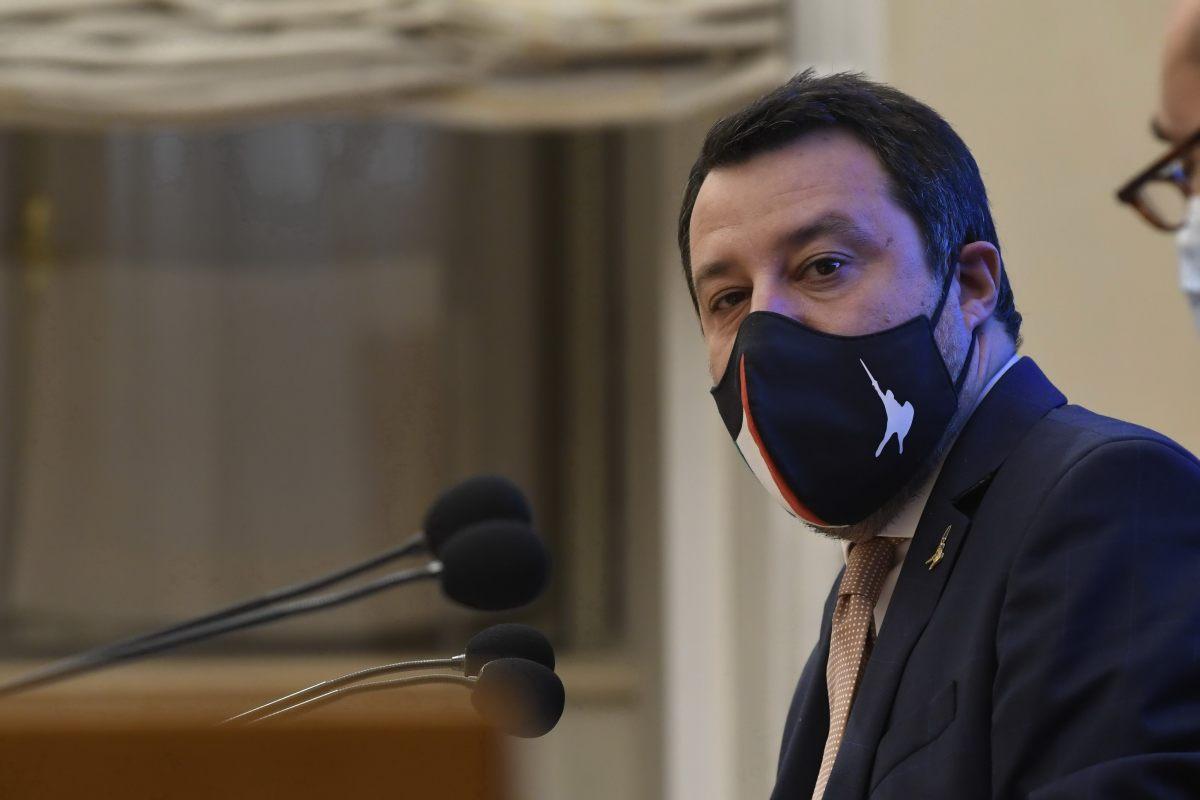 """Salvini """"Sulle riforme noi ci siamo, vedremo Pd e M5S"""""""