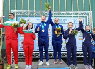 Alessandra Perilli e Gian Marco Berti sul podio in Coppa del Mondo a Lahti