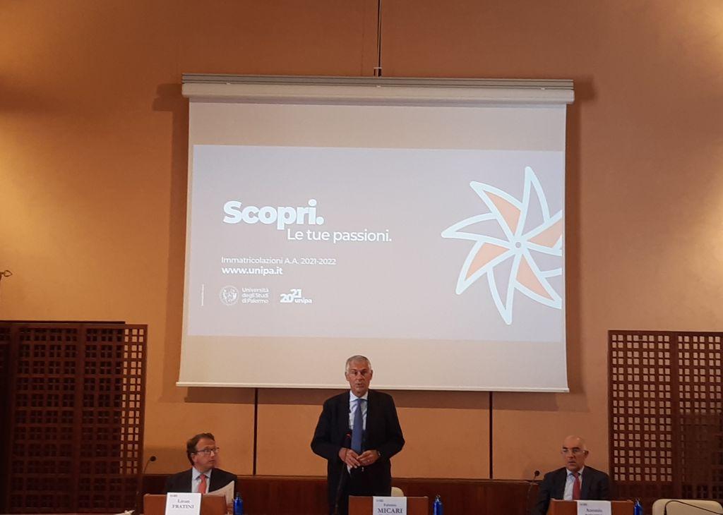 """Micari """"Nuova offerta formativa Unipa ampia e competitiva"""""""