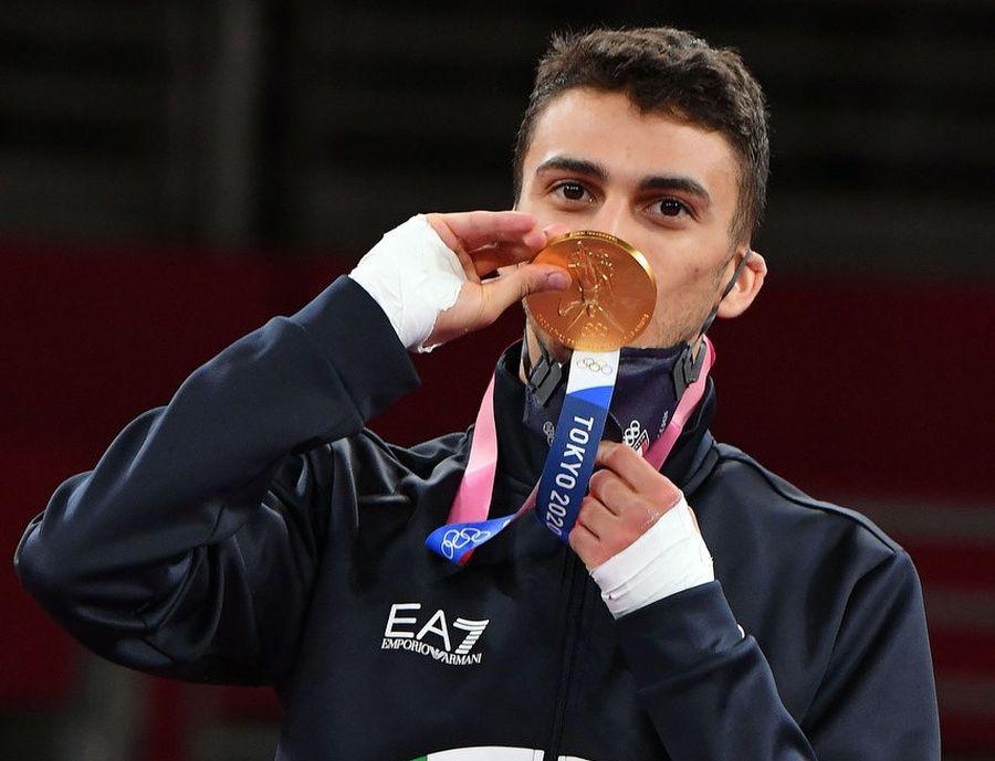 """Dell'Aquila oro olimpico nel taekwondo """"Medaglia per l'Italia"""""""
