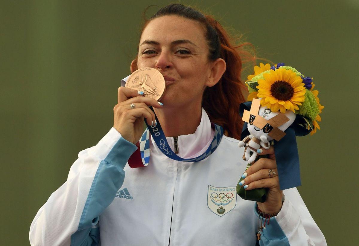 Perilli bronzo nel trap, San Marino entra nella storia