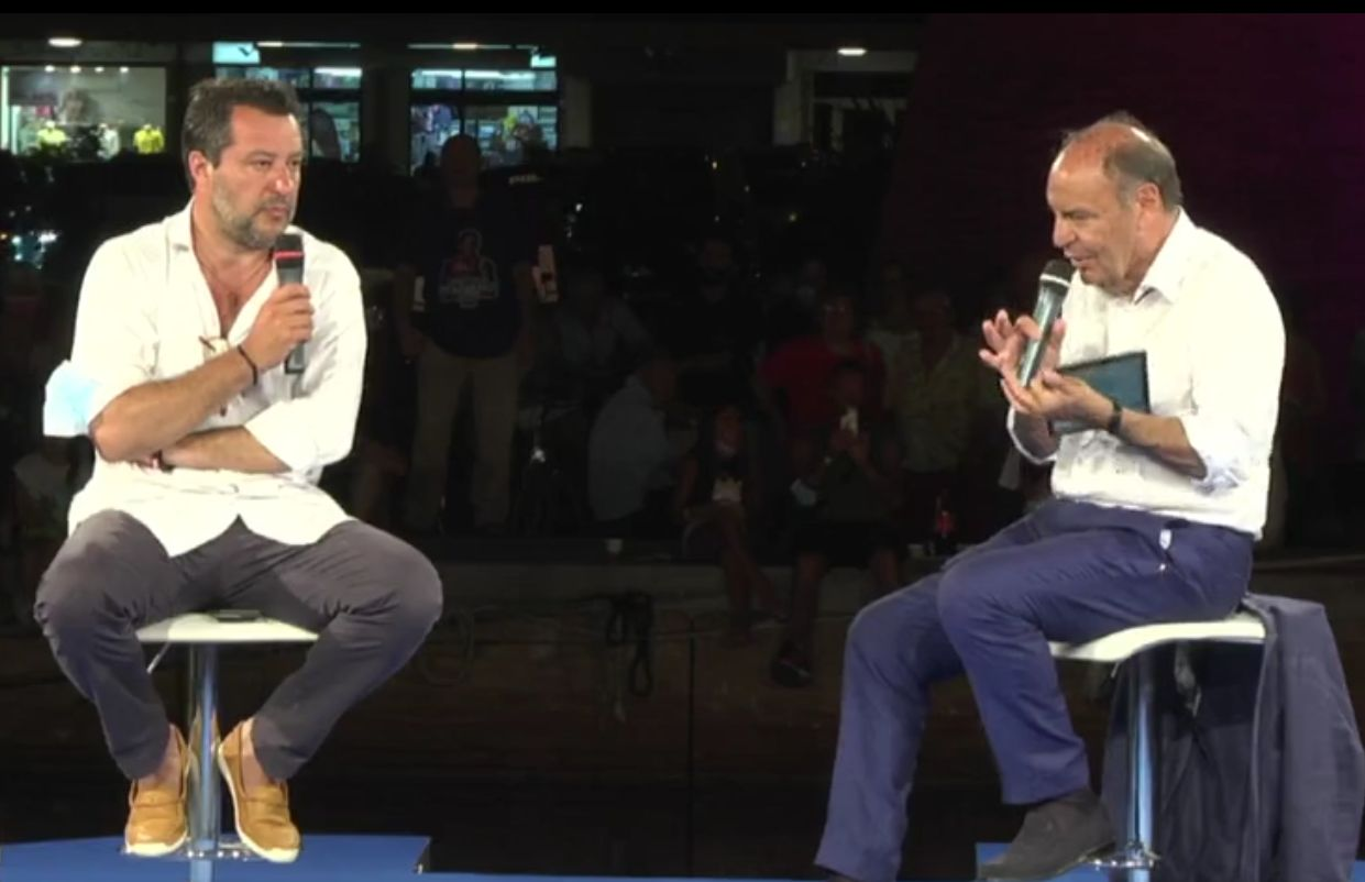 """Centrodestra, Salvini """"io e Berlusconi faremo la federazione"""""""