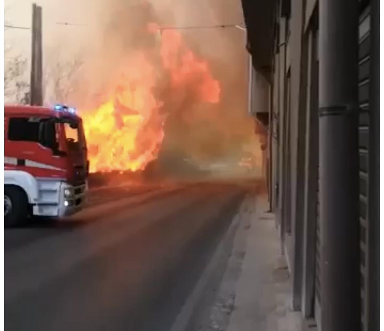 Incendi,  2 canadair e un elicottero per spegnere ultimi focolai a Enna