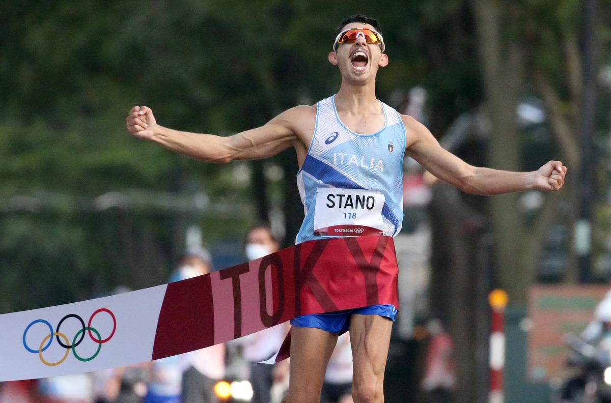 Oro Italia con Massimo Stano nella 20 km di marcia