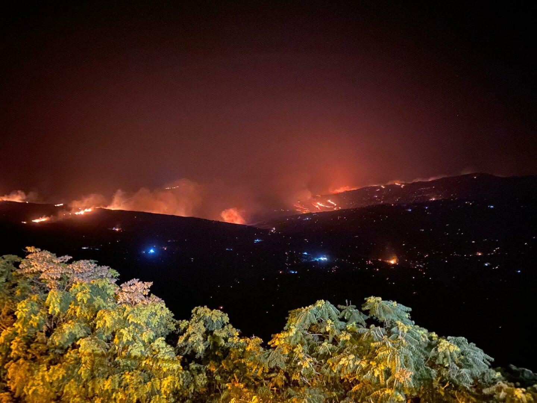 Incendi, dalle Isole Eolie alle Madonie: a Ganci inizia conta dei danni