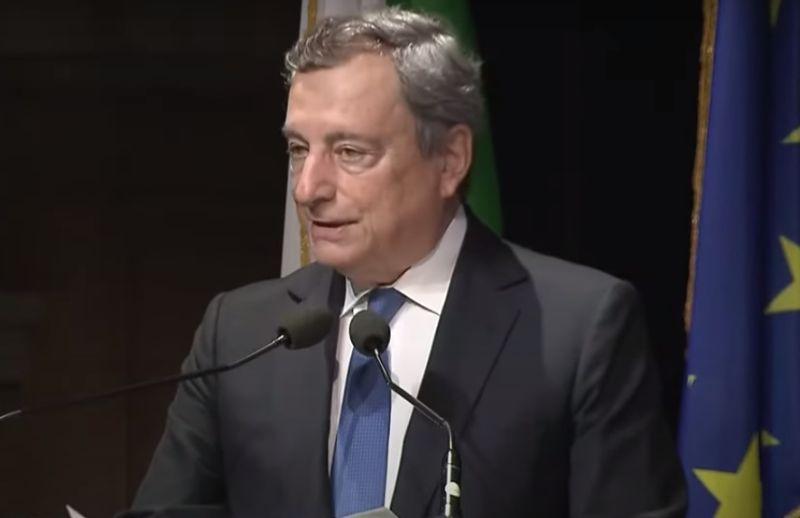"""Clima, Draghi """"Non stiamo mantendo impegni"""""""