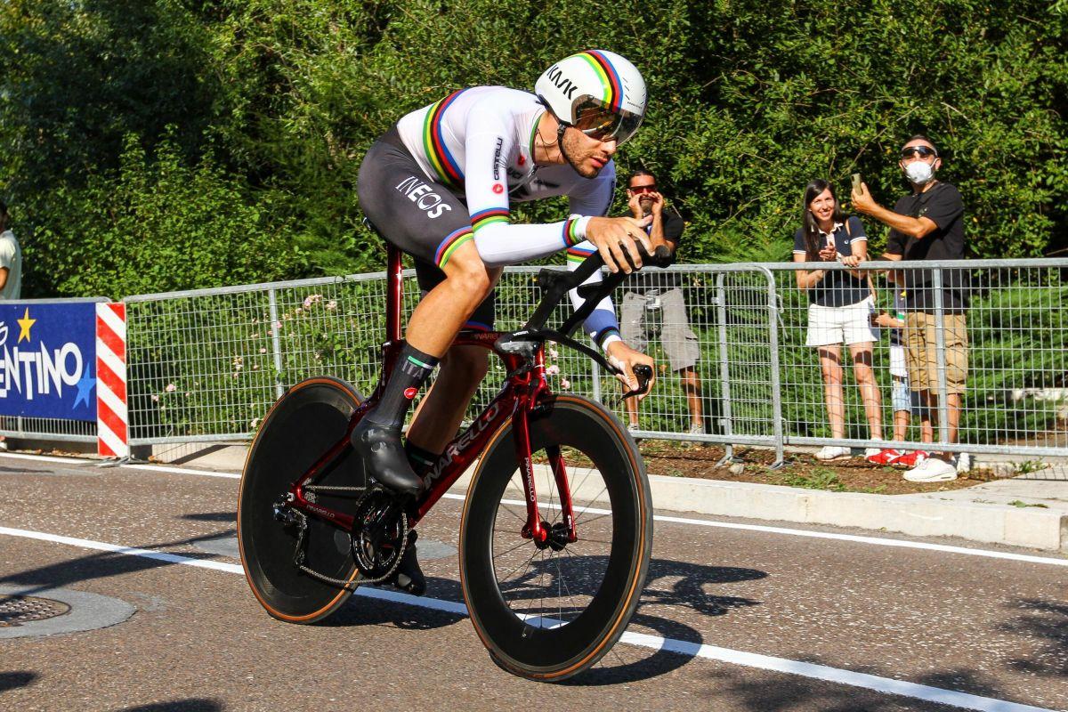 Ganna si conferma campione del mondo a cronometro