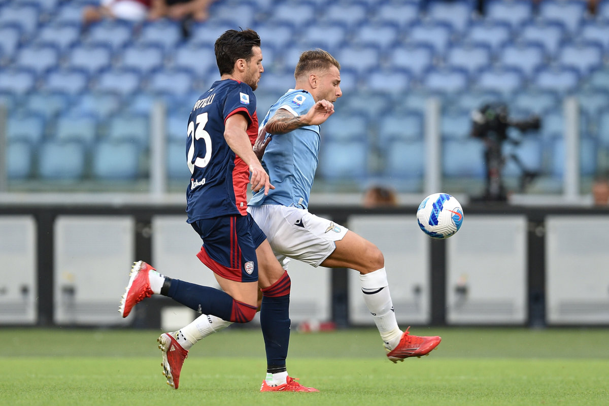 Cataldi salva la Lazio, 2-2 con il Cagliari