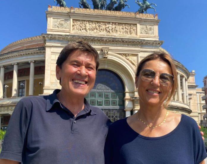 "Gianni Morandi in vacanza a Palermo ""Città fantastica"""