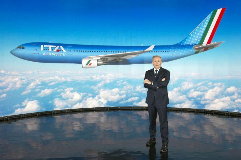 Nasce ITA Airways, livrea azzurra per la nuova compagnia di bandiera