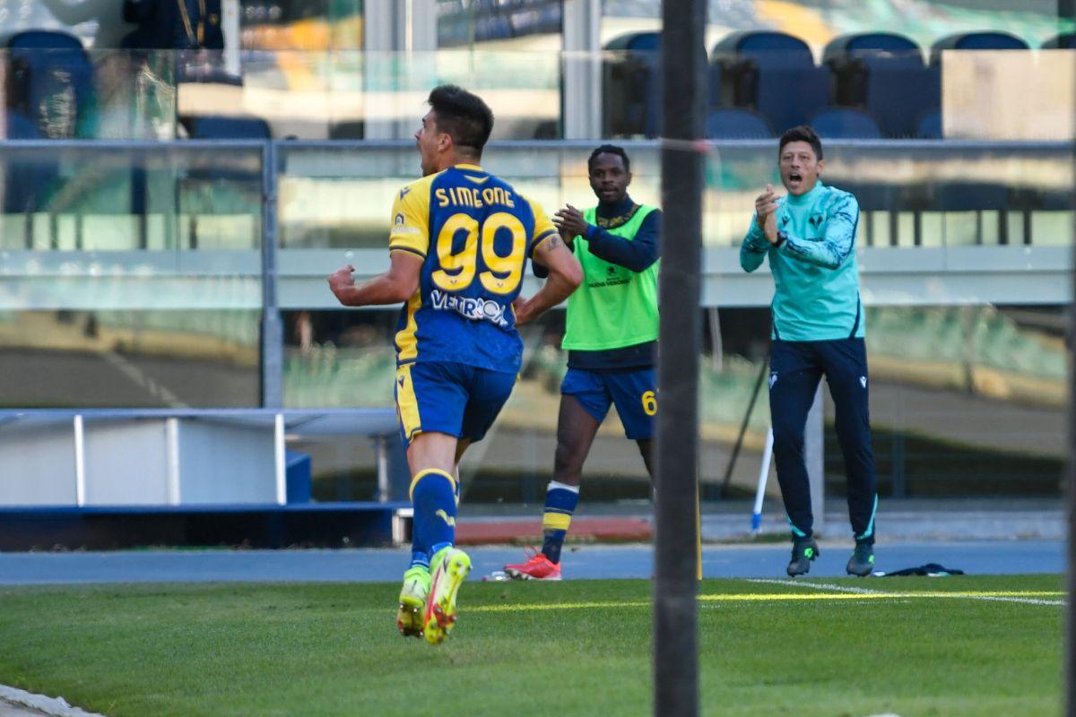 Poker di Simeone, il Verona stende la Lazio 4-1