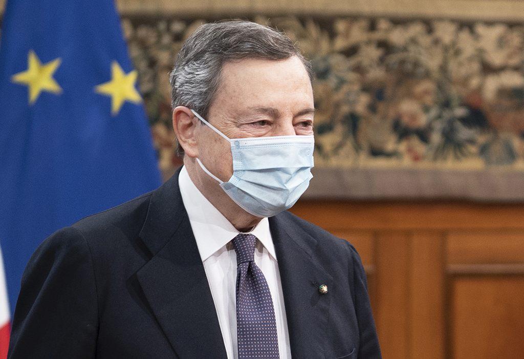 """Protezione Civile, Draghi """"Volontari forza silenziosa dell'Italia"""""""