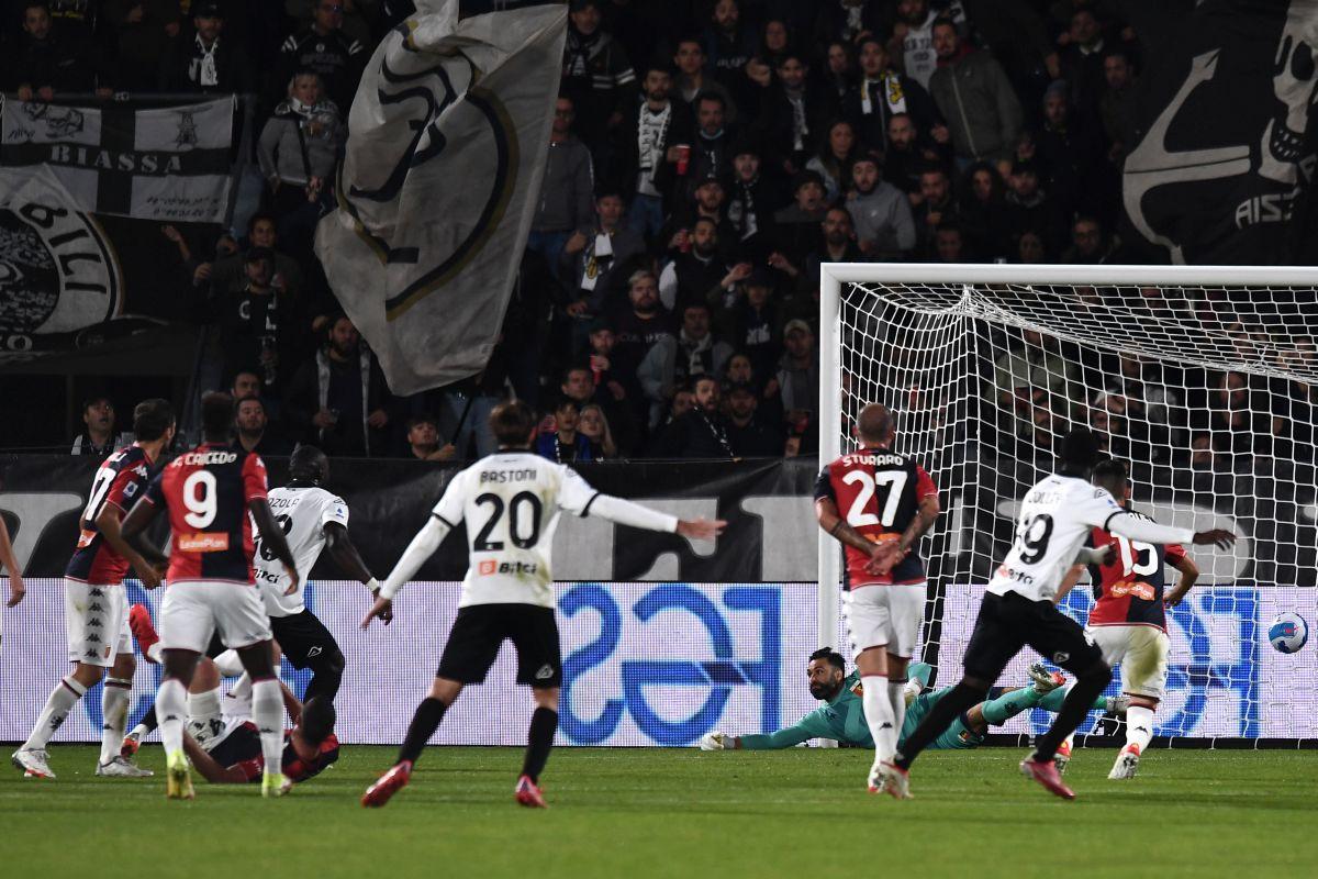 Finisce 1-1 il derby ligure tra Spezia e Genoa