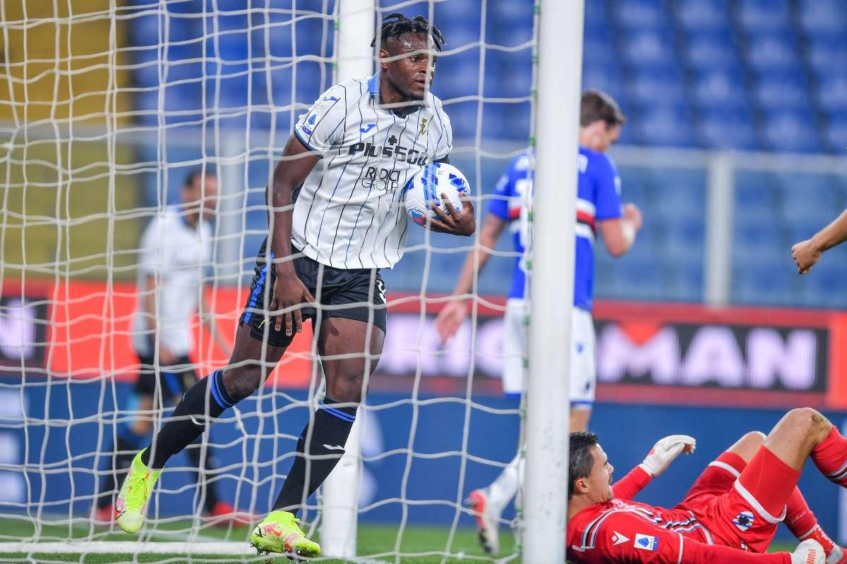Atalanta corsara a Genova, Sampdoria battuta 3-1